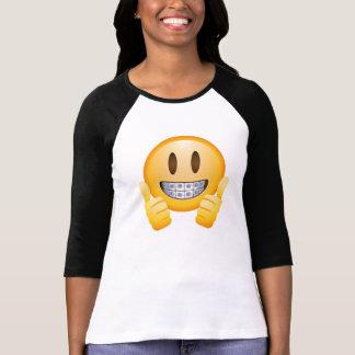 Het Overhemd van de Glimlach van Emoji T Shirt