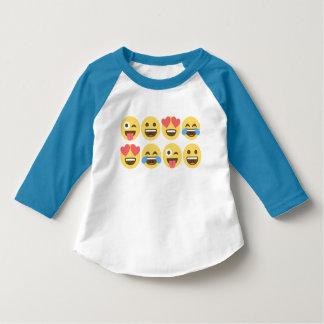 Het Overhemd van Emoji - Gezichten Emoji Romper