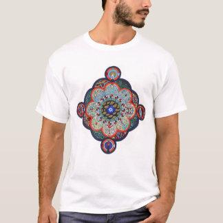 Het Overhemd van Mandala van Jung voor Man T Shirt