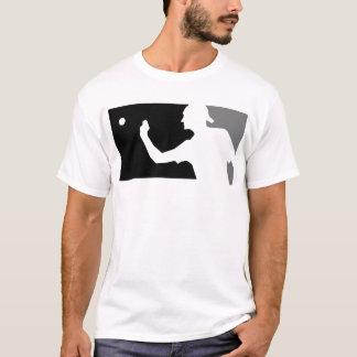 Het Overhemd van Pong van het bier in Grijs & T Shirt