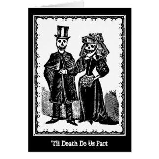 Het Paar van het skelet - Kaart (pas aan)