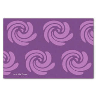 Het paarse Papieren zakdoekje van de Werveling Tissuepapier