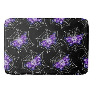 Het paarse Web van de Schedel Badmat