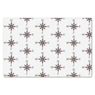 Het Papieren zakdoekje van de Gift van het kompas Tissuepapier