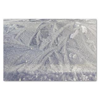 Het Papieren zakdoekje van het Patroon van het ijs Tissuepapier