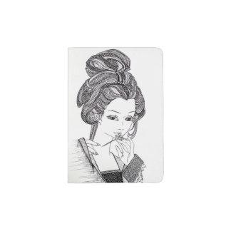 Het paspoorthouder van de geisha paspoort houder
