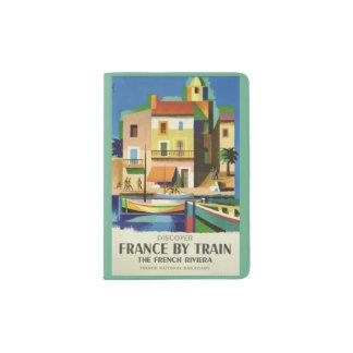 Het paspoorthouder van de Reis van Frankrijk Paspoort Houder