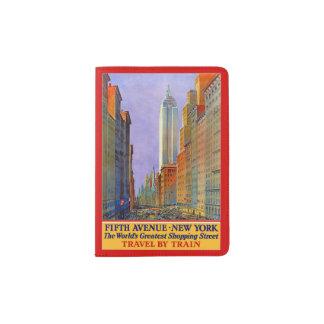 Het paspoorthouder van de Reis van New York de Paspoort Houder