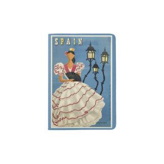 Het paspoorthouder van de Reis van Spanje Vintage Paspoort Houder