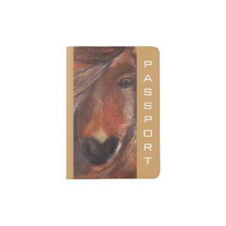 Het paspoorthouder van het pony (a254) paspoort houder