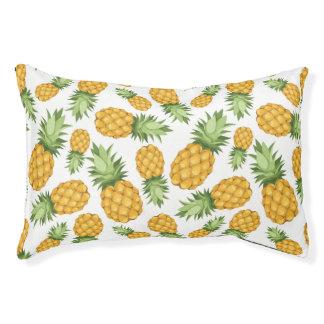 Het Patroon van de Ananas van de cartoon Hondenbedden