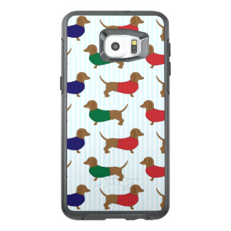 Het Patroon van de tekkel Otterbox Samsung S6 plus
