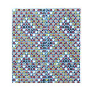 Het Patroon van de Textuur NOVINO komt begroet Notitieblok