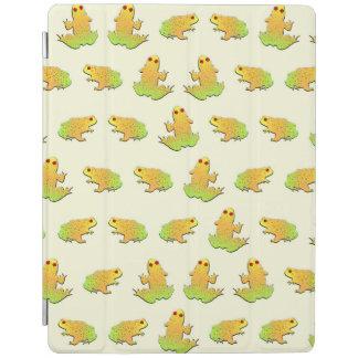 Het patroon van kikkers iPad cover