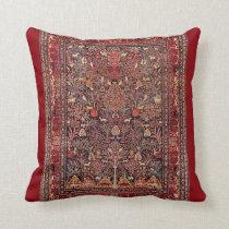 Het Perzische Fijne Art. van de Vintage Antiek Sierkussen