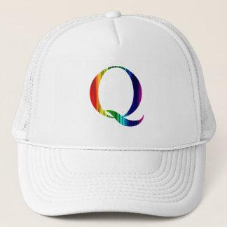Het Pet van de regenboog Q