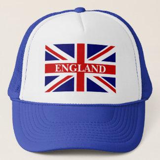 Het pet van Engeland met Britse Union Jack vlag