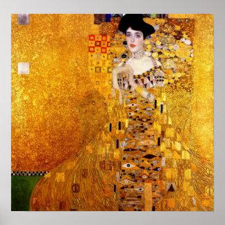 Het Portret van Klimt van Adele Bloch-Bauer Poster
