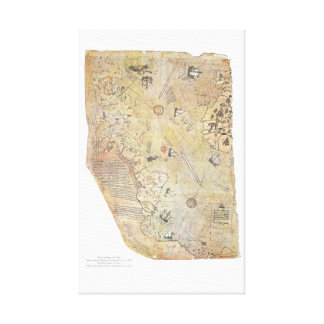 Het Poster van het Canvas van de Kaart van de Were