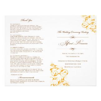 Het Programma van het Huwelijk van Roxanne Folders