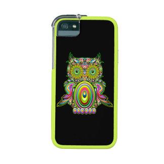 Het Psychedelische Pop-art van de uil iPhone 5 Covers