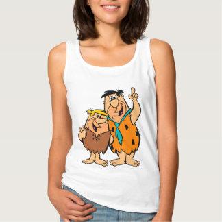 Het Puin en Fred Flintstone van Barney Tanktop