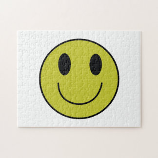 Het Raadsel van het Gezicht van Smiley Legpuzzel