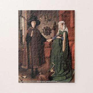 Het raadsel van het Huwelijk Jan van Eyck - Arnolf Legpuzzel