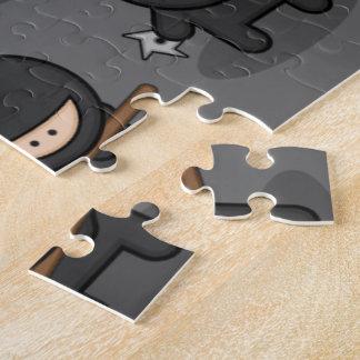 Het Raadsel van Ninja - de Grote Gift van Sporten! Puzzel
