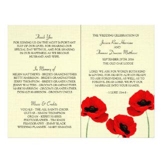 Het rode Collectie van het Huwelijk van de Flyer