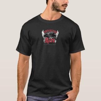 Het rode Donkere T-shirt van Rats® van de Rivier