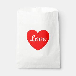 Het rode Huwelijk van de Liefde van het Hart, Bedankzakjes 0