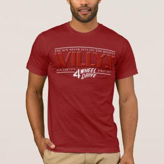 Het Rode Overhemd van Willys 4WD T Shirt