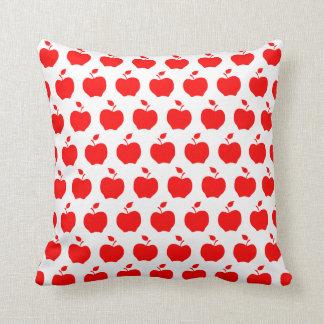 Het rode Patroon van Appelen Sierkussen