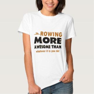 Het roeien sportendesign shirts