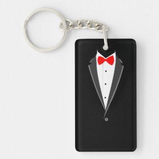het rokende zwarte elegante kostuum van de sleutelhanger