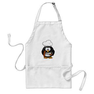 Het roosteren van Pinguïn Standaard Schort