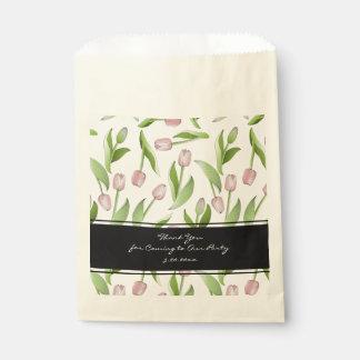 Het roze Huwelijk van de Klomp van de Tulp Bloemen Zakje 0