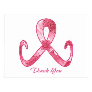 Het roze Lint dankt u
