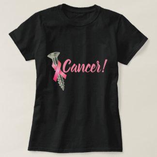 Het Roze Lint van Kanker van de Borst van de T Shirt