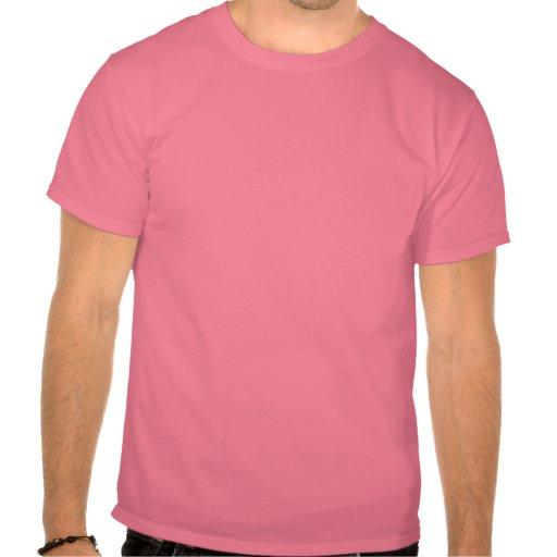 Het Roze van de Leng van Daar Tshirt