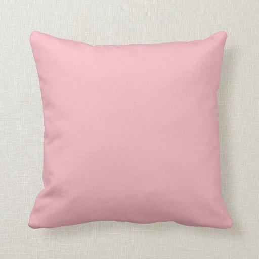 Sierkussen sierkussen tekst : Het u0026quot;roze van de pastelkleuru0026quot; sierkussen : Zazzle