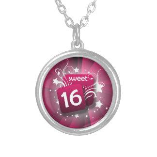 Het roze wervelt Verjaardag van 16 Meisjes van Ketting Rond Hangertje