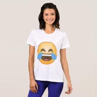Het schreeuwende Lachen Emoji T Shirt