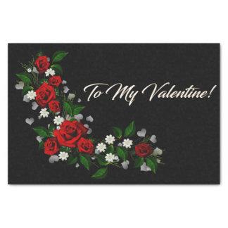 Het Servet van de Valentijnsdag Tissuepapier