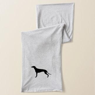 Het Silhouet van de windhond Sjaal