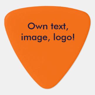 Het Sinaasappel van uni van de Oogst van de gitaar Gitaar Plectrums 0