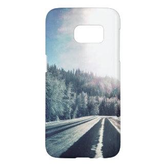 het sneeuw hoesje van de wegtelefoon