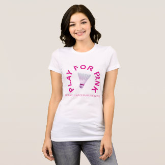 Het Spel van het badminton voor het Overhemd van T Shirt