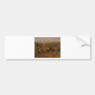 Het spenen van de Kalveren door Rosa Bonheur Bumpersticker